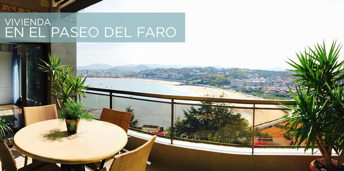Piso Paseo del Faro en Donostia San Sebastián